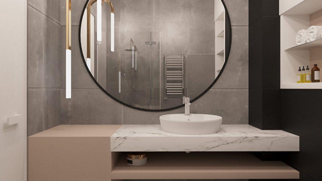 Muebles Cuartos D Baño Con Espejo Grande  toronto