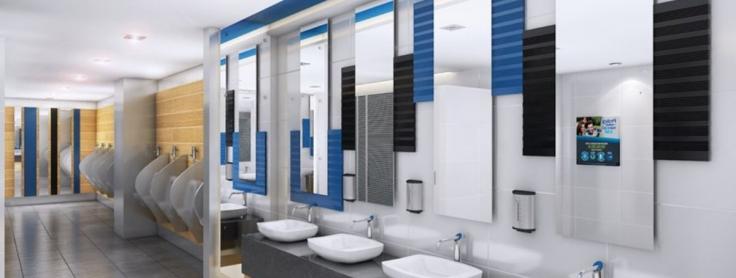 Best Decorations In Public Bathrooms Venceramica